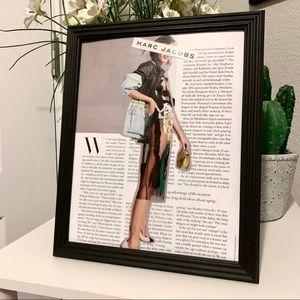 Marc Jacobs Theme Handmade 8x10 Fashion Collage